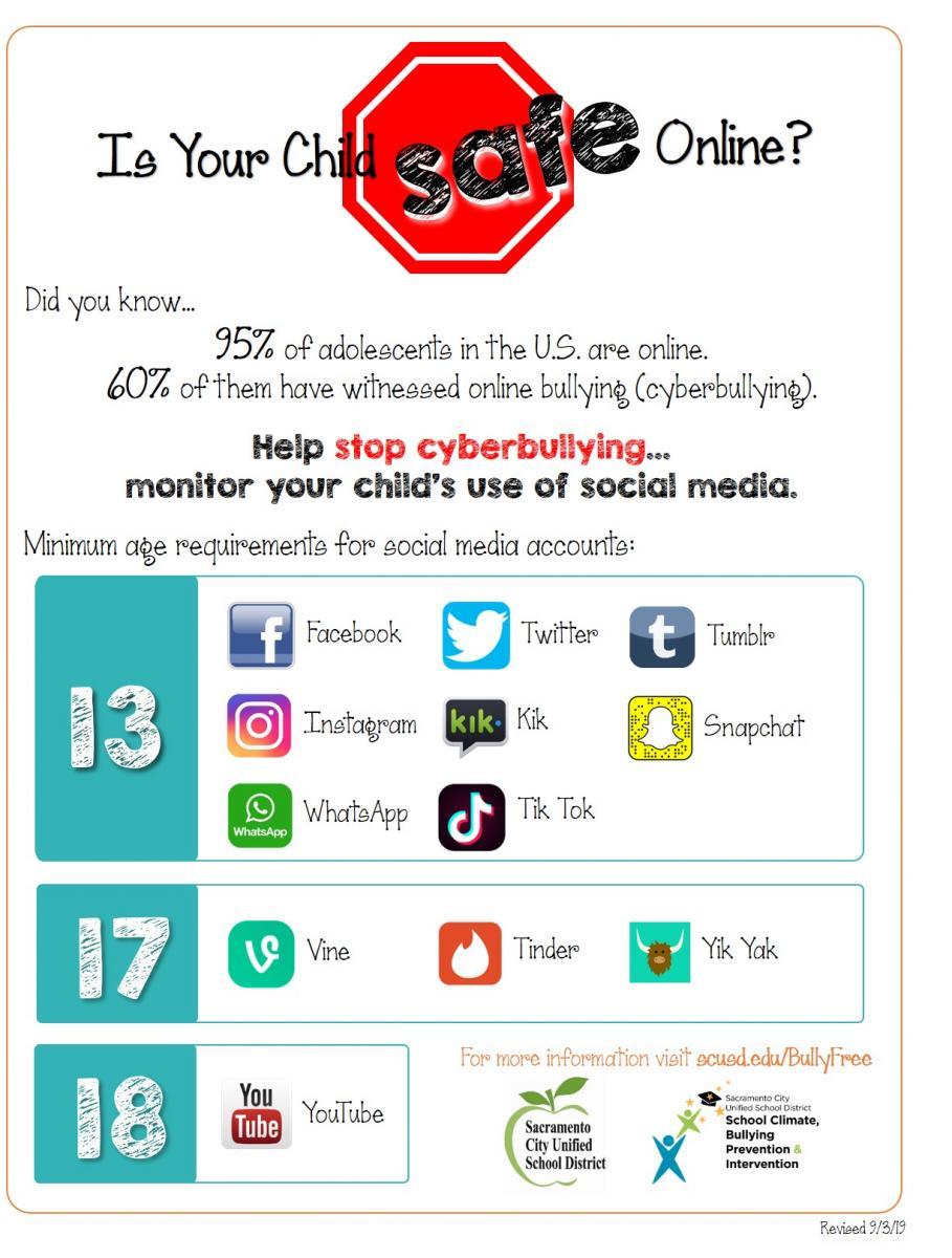 Cyberbullying and Social Media Safety - Sacramento City