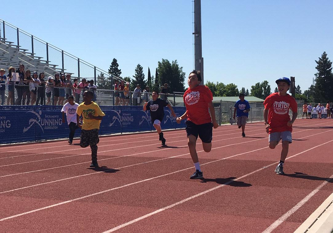 """Sac City Unified and Sac Running Association Celebrate """"STRIDE"""