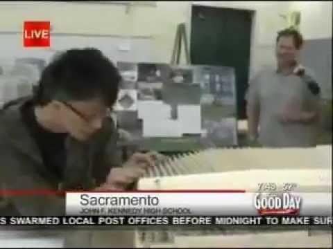 JFK Architecture Class on Good Day Sacramento
