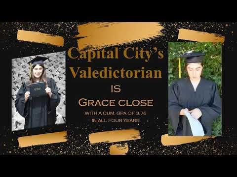 Capital City School Virtual Graduation Ceremony