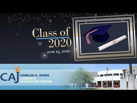 Charles A. Jones Career and Education Center Virtual Graduation Ceremony
