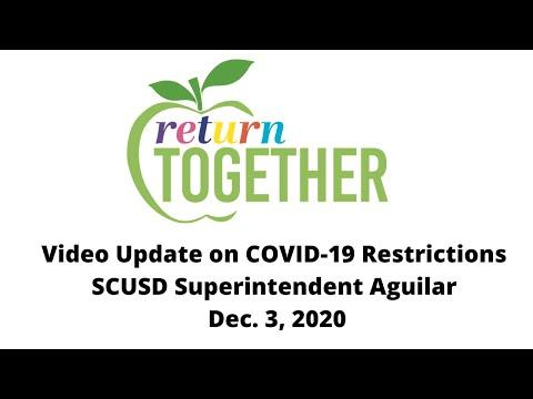 Video Message from Superintendent Aguilar on State Announcement of a Stay-at-Home Order