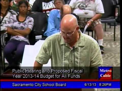 June 13, 2013 Board Meeting