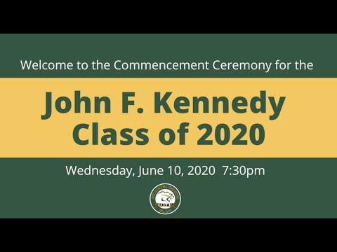 John F. Kennedy High School Virtual Graduation Ceremony