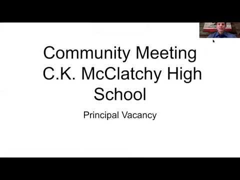 C.K. McClatchy Principal Search Process Update and Feedback Survey