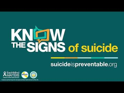 Sac City Unified Urges Student and Families to Watch for Warning Signs of Suicide September is Suicide Prevention Awareness Month
