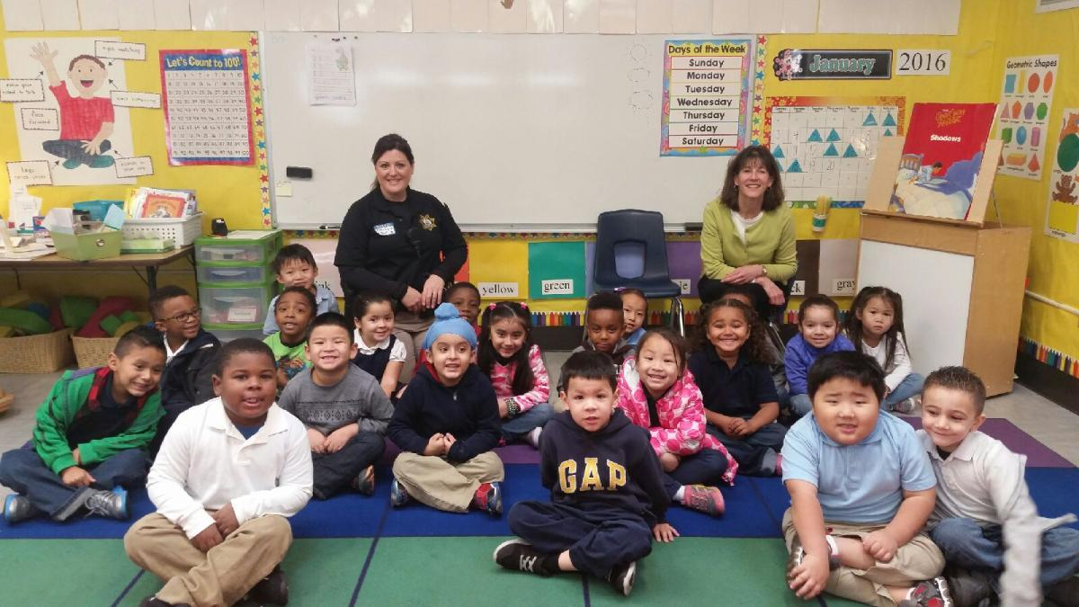 Students Learn About Careers At Pacific Elementary Career Day