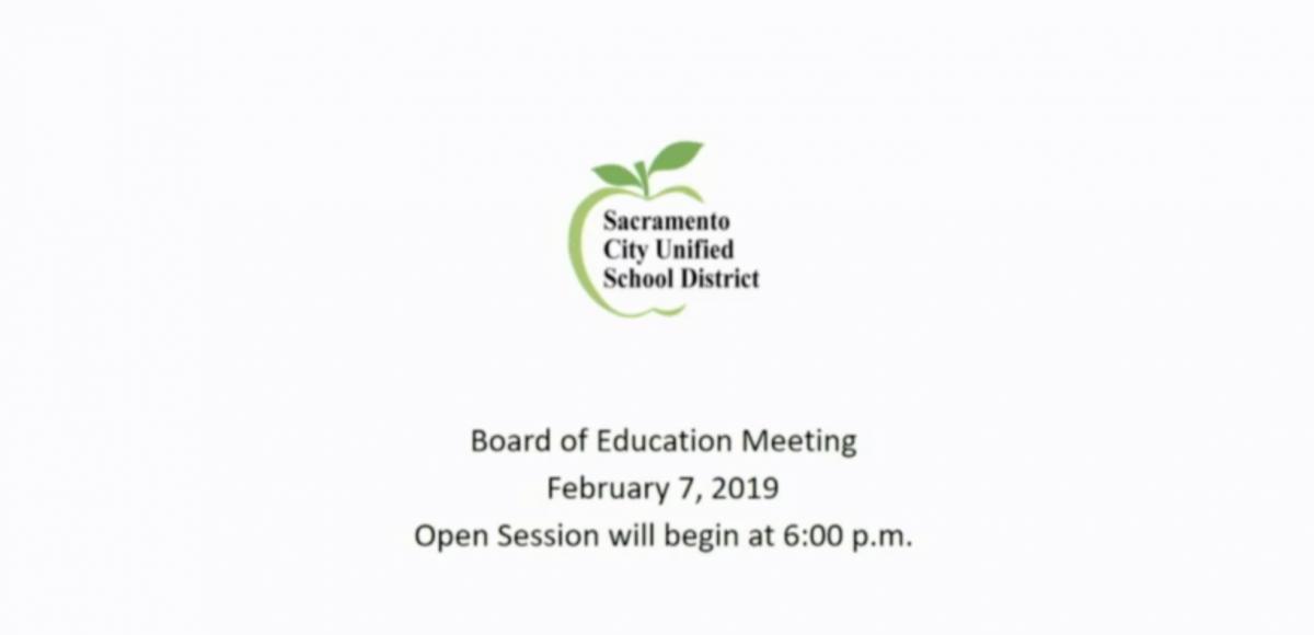 Board of Education Meeting