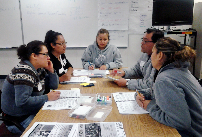 Image of SCUSD's Parent Leadership Pathway featured in article