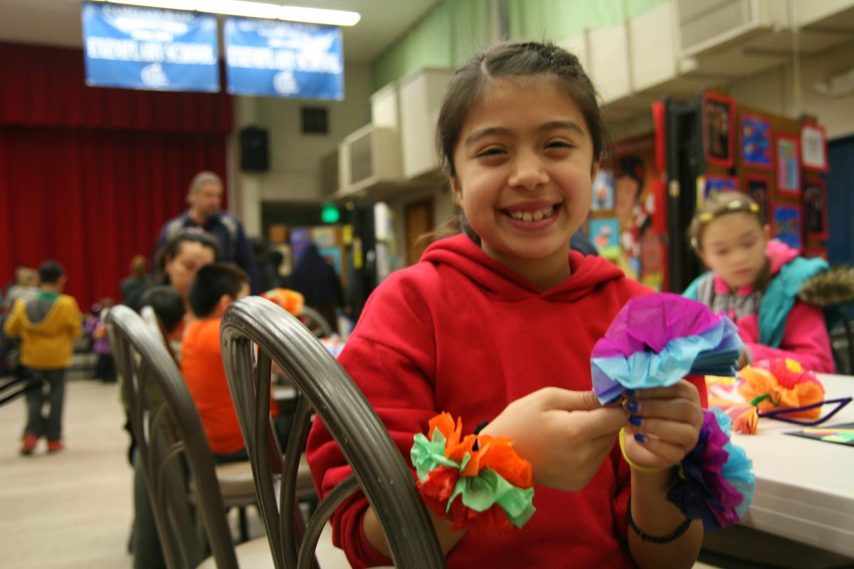 Image of Camellia students get creative at evening art show