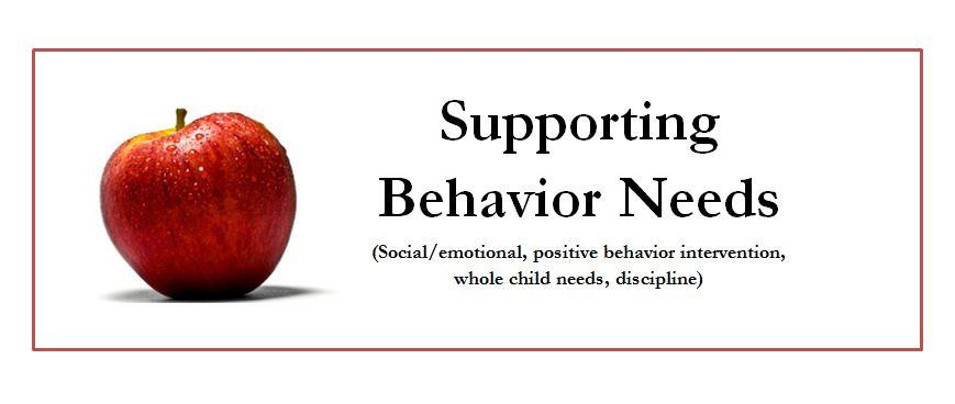 Image of CAC Workshop: Supporting Behavior Needs