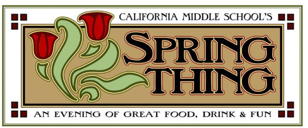 Image of Cal Middle's Spring Thing fundraiser is March 5