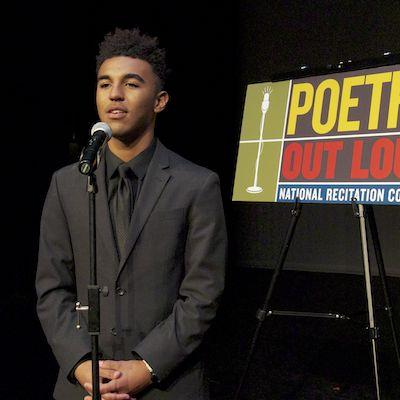 Image of Kennedy student wins regional Poetry Out Loud contest