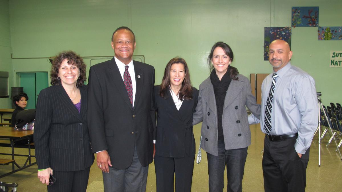 Image of Judges visit Sutter classrooms, stress the importance of writing