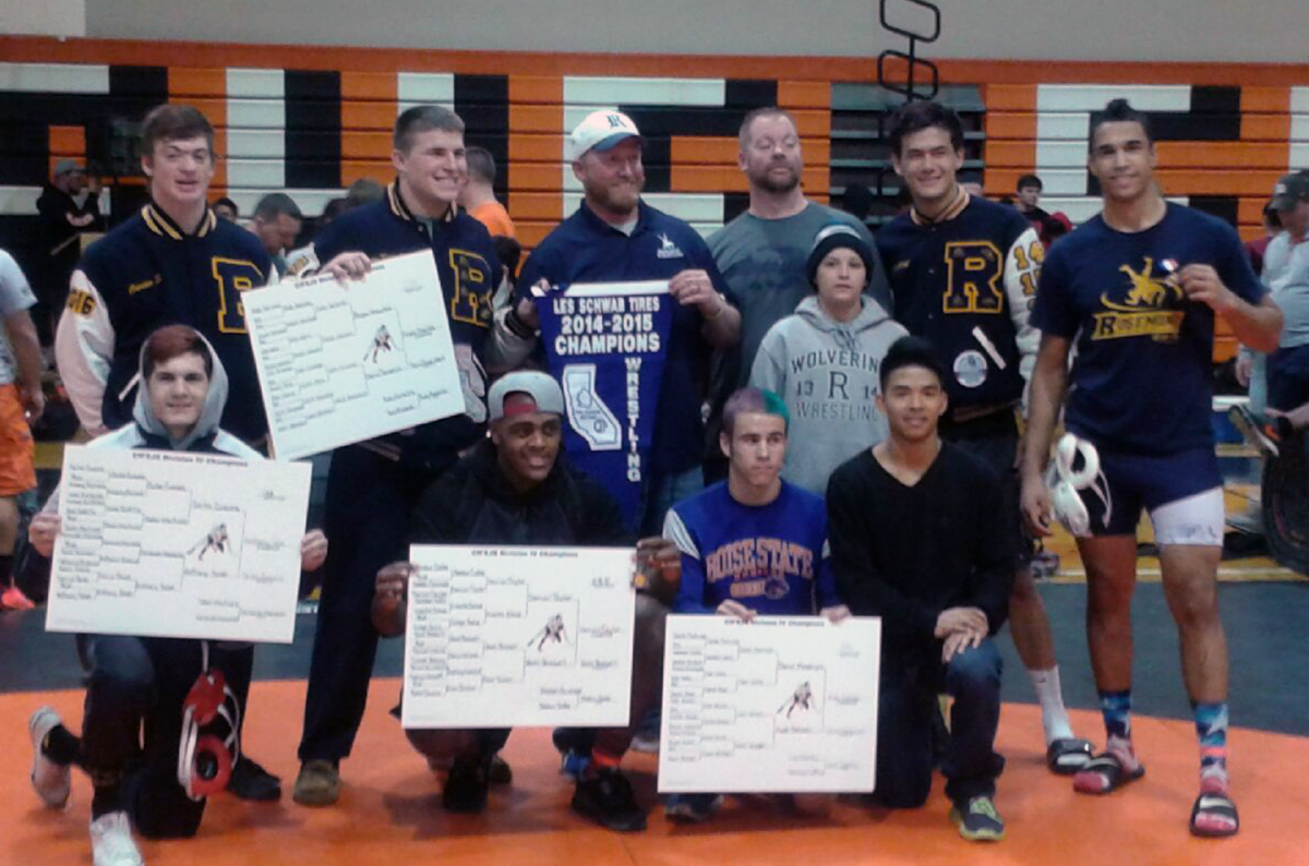 Image of Rosemont wrestlers capture CIF Sac-Joaquin championship