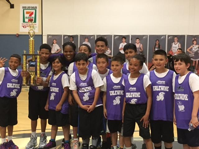 Image of Erlewine Eagles fly to victory at Einstein Middle School tournament
