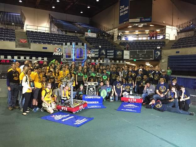 Image of Rosemont robotics team headed to FIRST World Championship in St. Louis