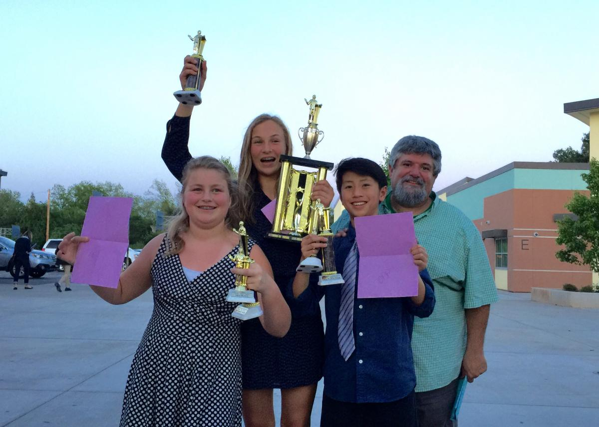 Image of Sutter debaters win three-state middle school championship