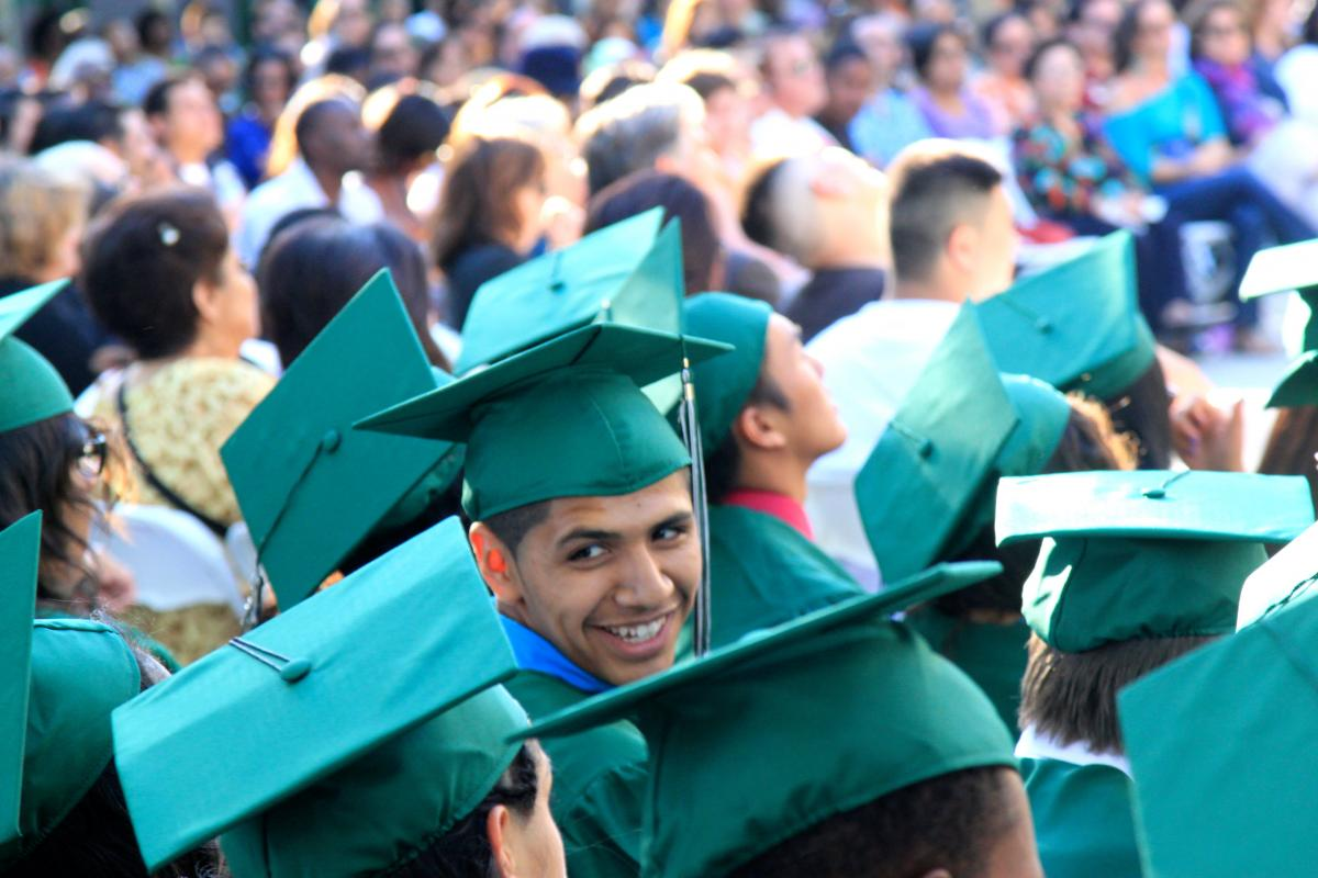 Image of SCUSD's graduation rate increases, drop-out rate dramatically declines