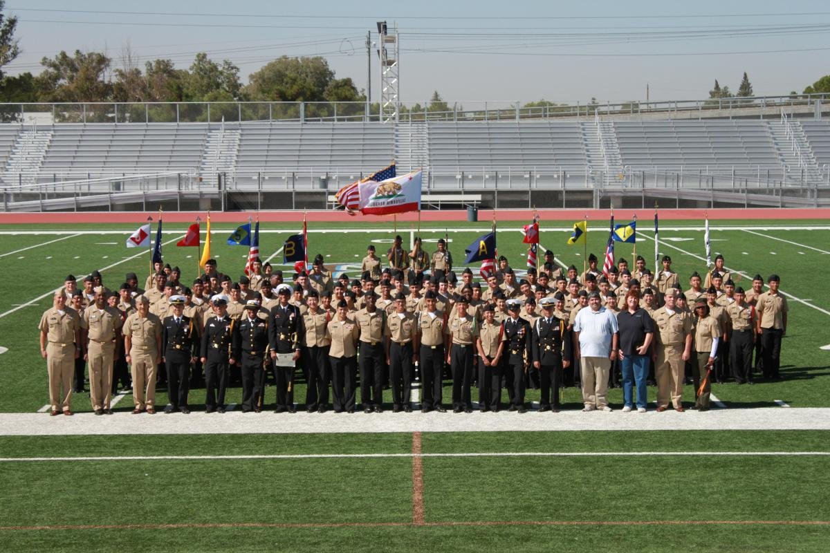 Image of Burbank ROTC named Distinguished Unit by US Navy