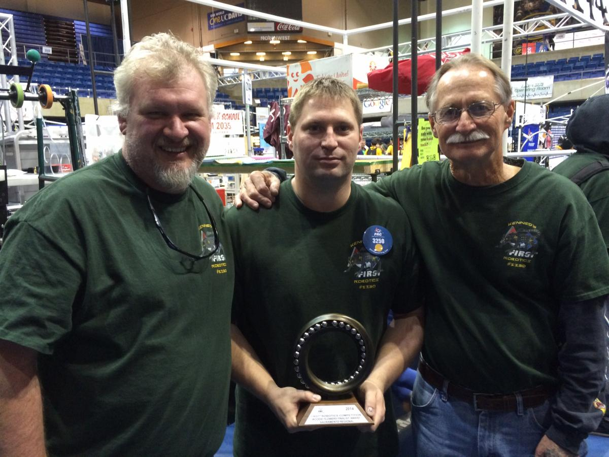 Image of Kennedy teacher wins coveted FIRST Robotics award