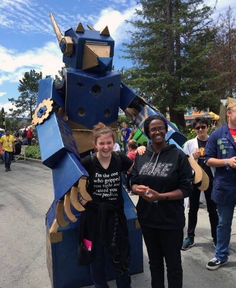 Image of Albert Einstein students attend the annual Maker Faire in San Mateo