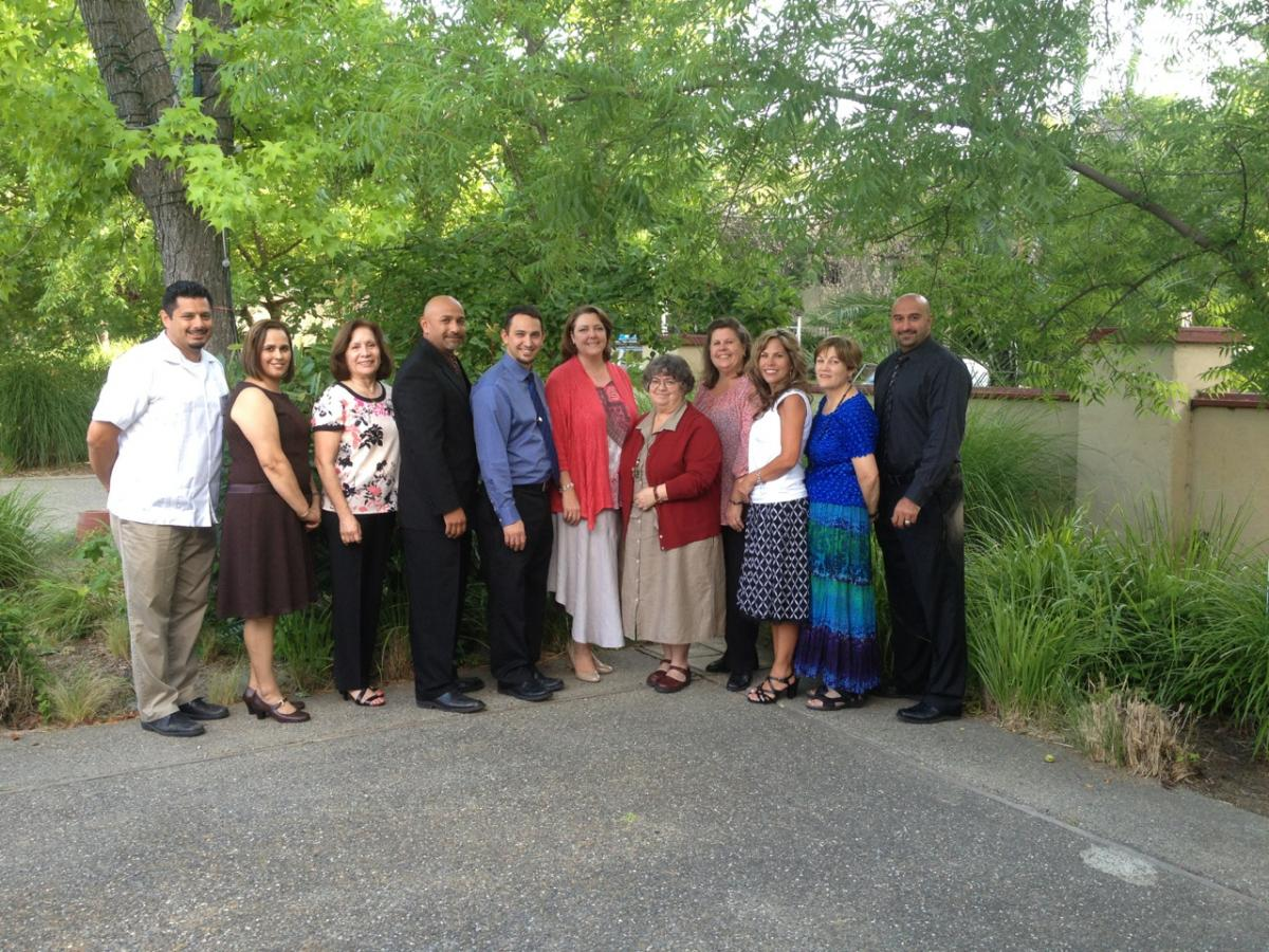 Image of Teachers honored at Sierra II ceremony