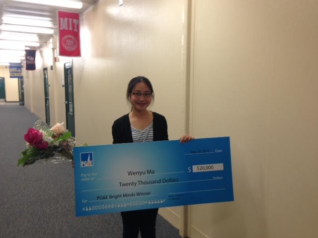 Image of Kennedy senior awarded PG&E Bright Minds Scholarship