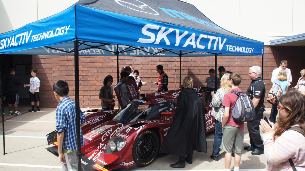 Image of Einstein students treated to STEM education — Mazda style