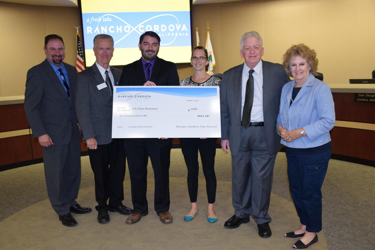 Image of Rancho Cordova City Council gives AM Winn $10,000