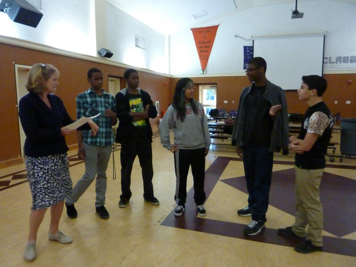 Image of New Tech theater students get ready for debut at Mondavi Center