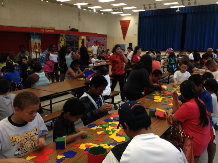 Image of Rosa Parks 'Family Math Night'