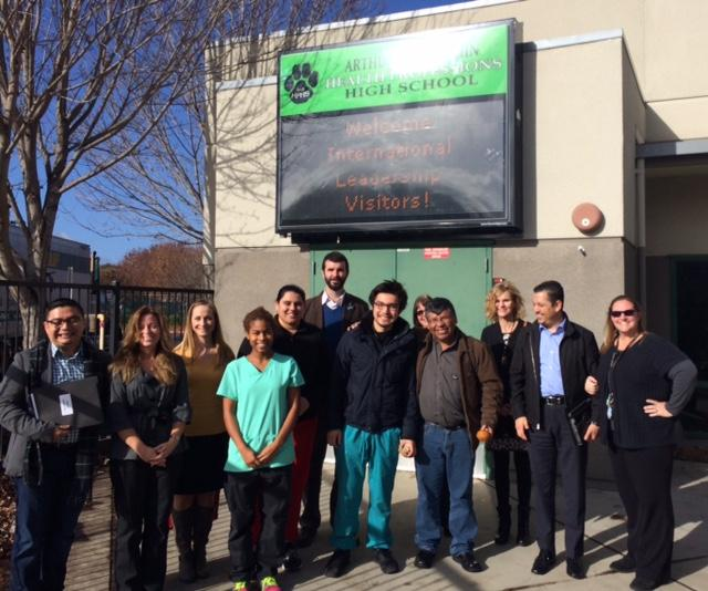 Image of Health Professions hosts educators from Latin America