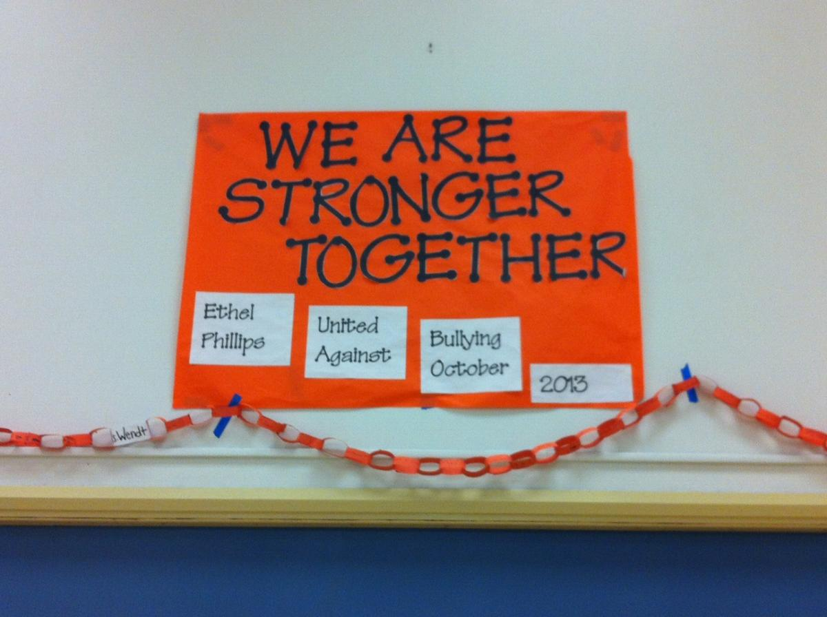 Image of Bullying prevention work continues