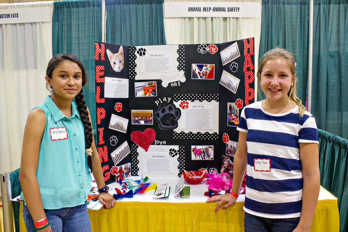 Image of Students demonstrate learning, community commitment at Summer of Service Showcase
