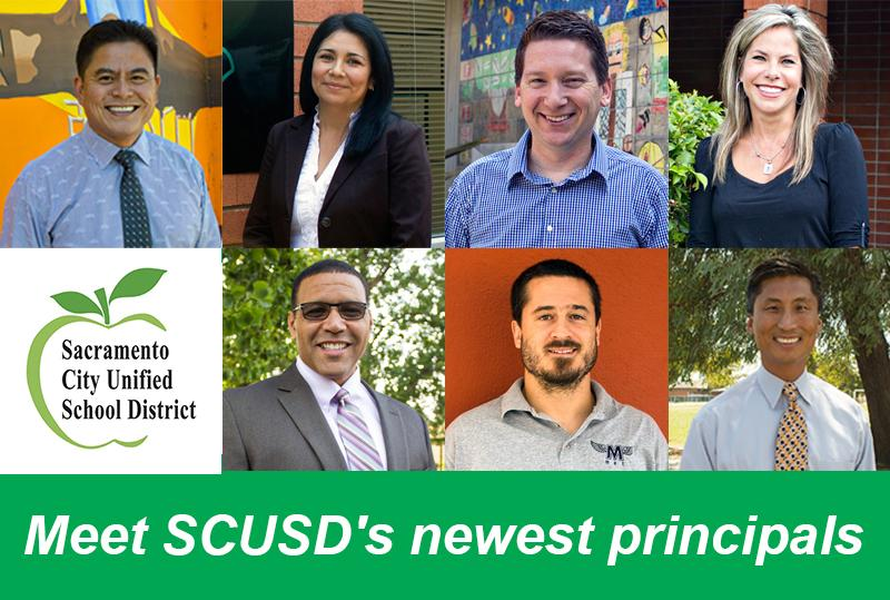 Image of The savvy seven: Meet SCUSD's newest principals