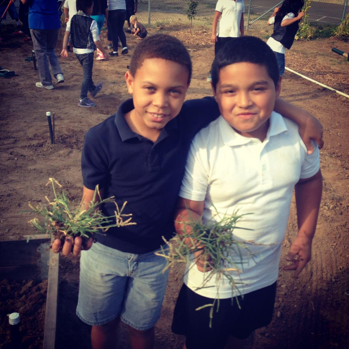 Image of Pacific Elementary's 'Day of Service'