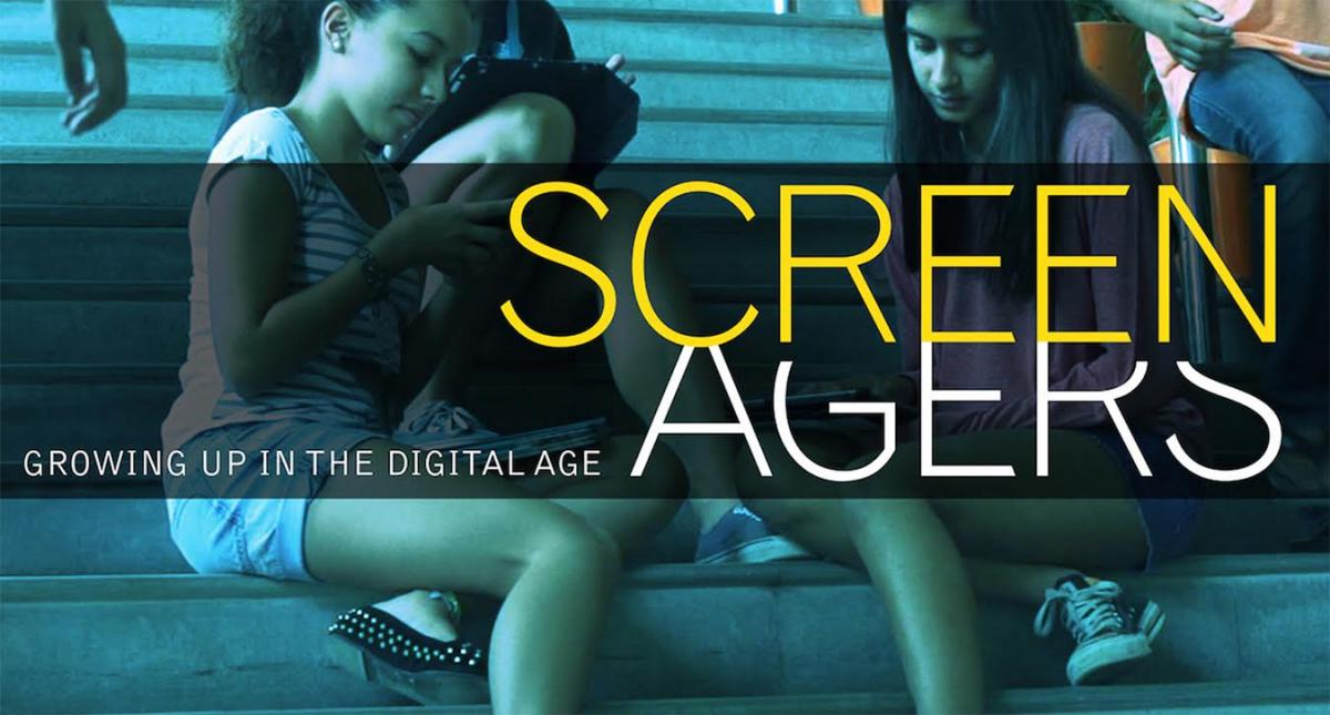 Image of Caleb Greenwood hosts 'Screenagers: Growing Up in the Digital Age'