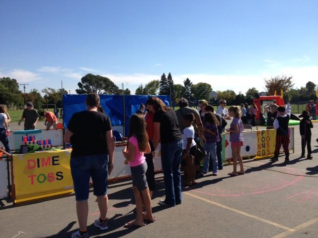 Image of Sequoia fall festival features book fair, 'haunted' house