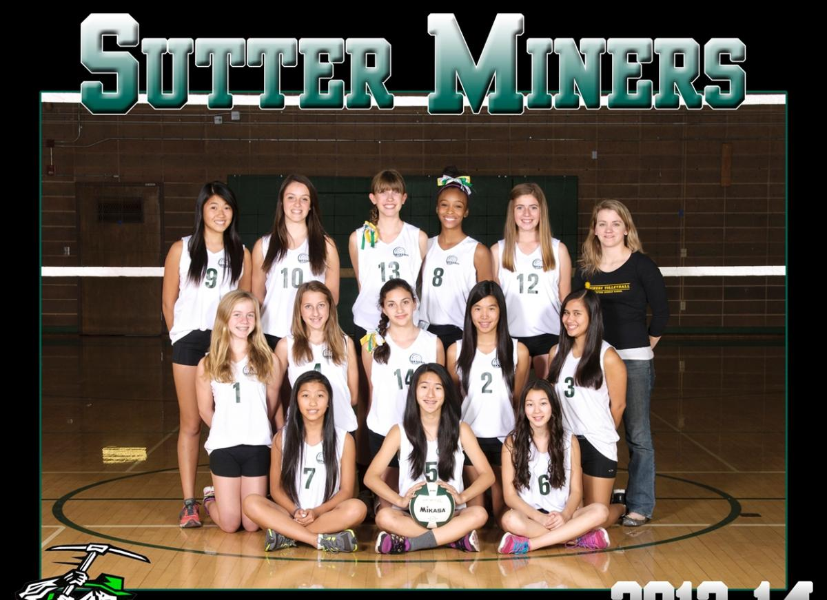 Image of Sutter wins first SCUSD middle school volleyball championship