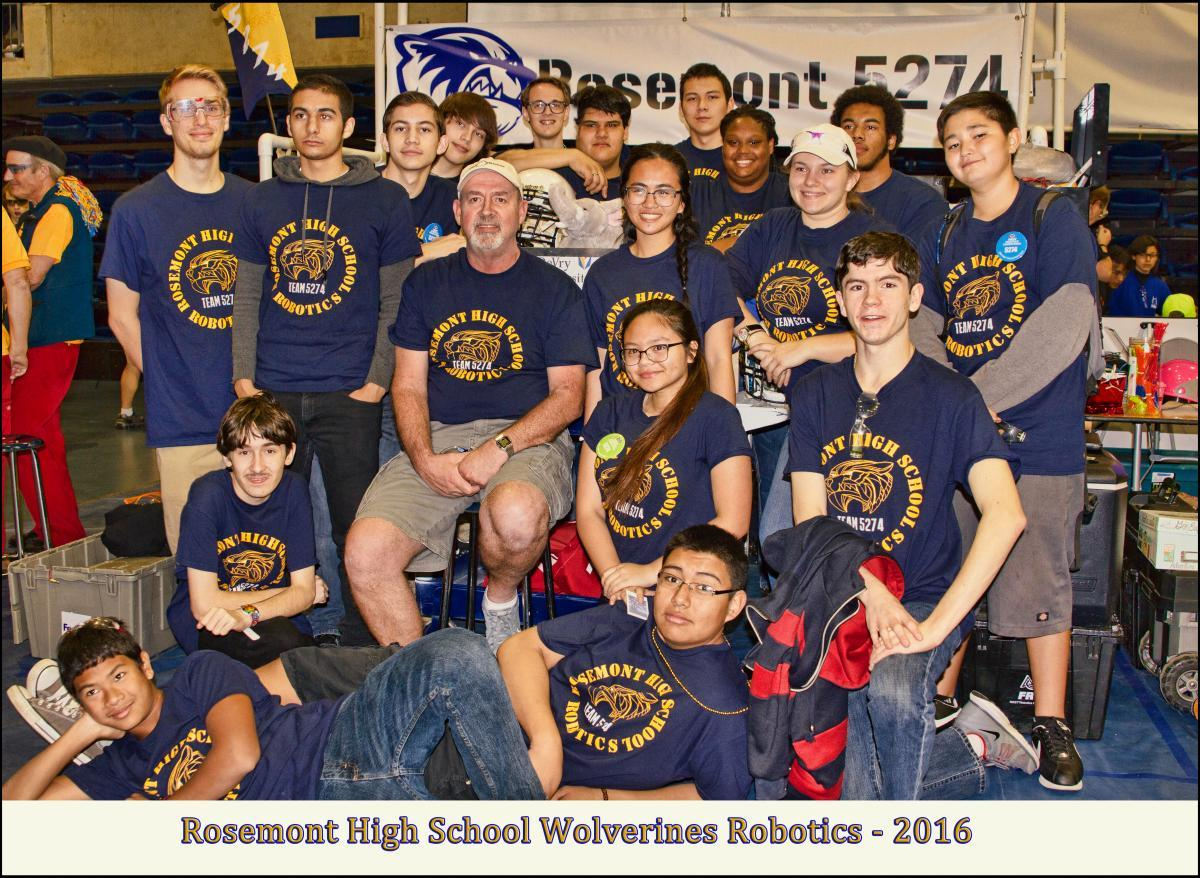 Image of Help send Rosemont's robotics team to FIRST World Championship in St. Louis
